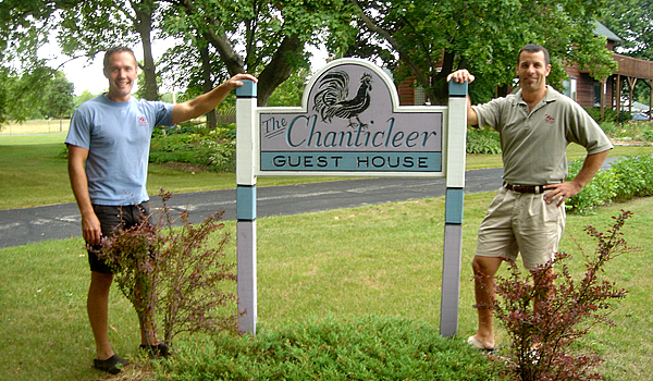 Owners of the Chanticleer Guest House - Door County B&B