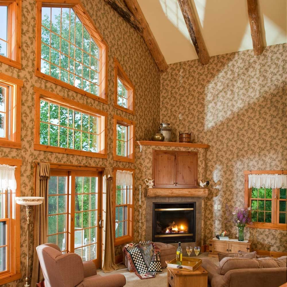 Evergreen Cottage Living Room - Door County Cottage