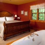 Evergreen Cottage Master Bedroom - Door County Cottage