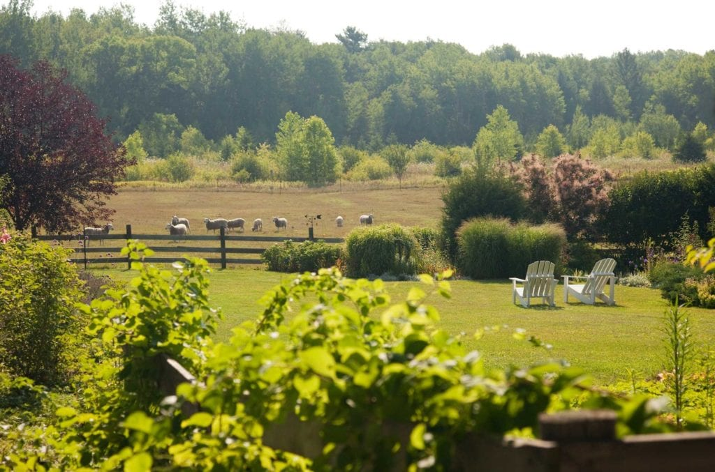 Grounds at Chanticleer Guest House - Door County Bed and Breakfast